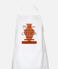 other_wheel-t-shirt Apron