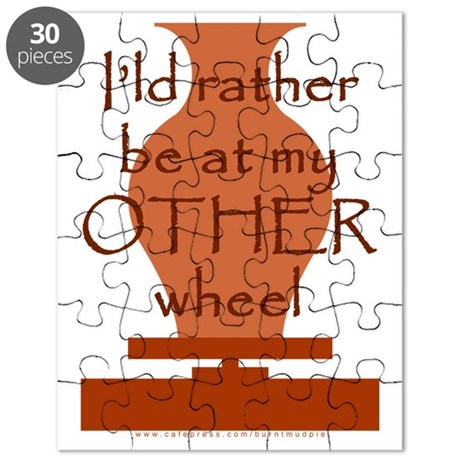 other_wheel-t-shirt Puzzle