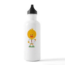 2-MarathonChickDkT Water Bottle