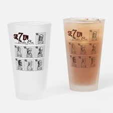 7deadly Drinking Glass