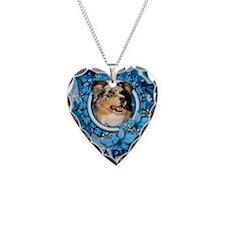 Blue_Snowflake_Australian_She Necklace
