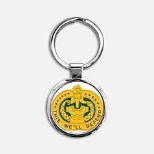 big Drill_Sergeant.gif Round Keychain