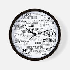 CollagePrint2n Wall Clock