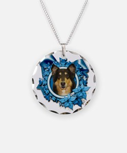 Blue_Snowflake_Collie_Caroli Necklace