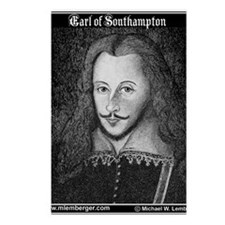 ZZZ-Earl of Southampton m Postcards (Package of 8)