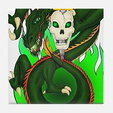 Dragon Sword Tile Coaster