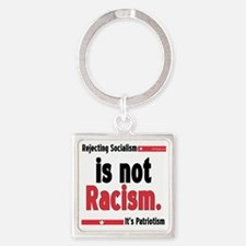 racism10x10 Square Keychain