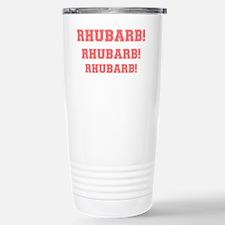 RHUBARB, RHUBARB, RHUBARB Stainless Steel Travel M