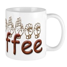 Coffee Mug in ASL Mug