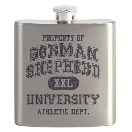 German-Shepherd-University Flask