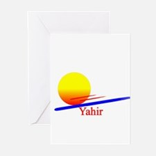 Yahir Greeting Cards (Pk of 10)