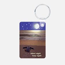 SILENT NIGHT SEA TURTLE CH Keychains