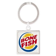 Burger King Bonefish Square Keychain