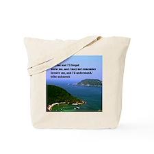 Tell me11x11 Tote Bag