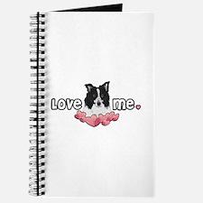 Love Me Border Collie Journal