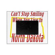 North Dakota - Smiling Picture Frame