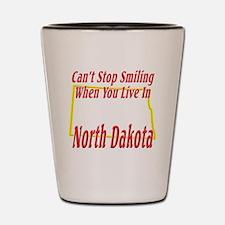 North Dakota - Smiling Shot Glass