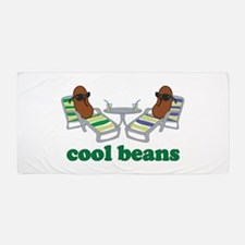 Cool Beans Beach Towel