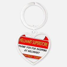 hellmartbasicpocket2 Heart Keychain