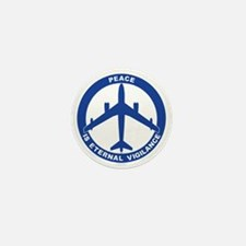 Peace Is Eternal Vigilance - B-47 Mini Button