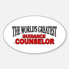 """The World's Greatest Guidance Counselor"" Decal"