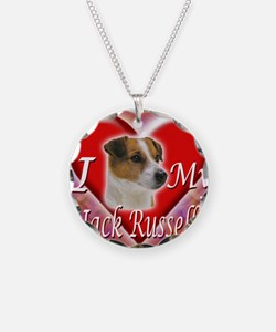 2-I Love My Jack Russell Necklace