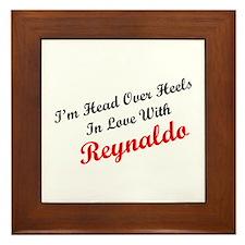 In Love with Reynaldo Framed Tile