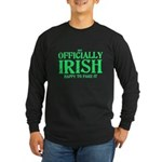 Officially Irish Long Sleeve Dark T-Shirt
