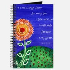 sSunflower small poster Journal