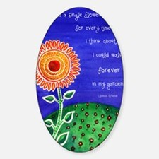 sSunflower small poster Decal