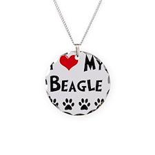 I-Love-My-Beagle Necklace