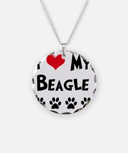 I-Love-My-Beagle Necklace