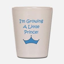 imgrowingalittleprince_crown2 Shot Glass