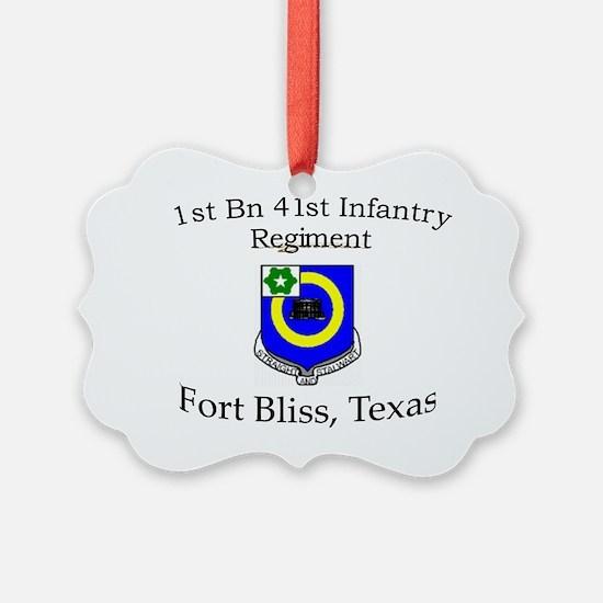 1st Bn 41st Inf Ornament
