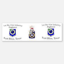 1st Bn 41st Inf Mug2 Bumper Bumper Sticker