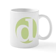 "green ""d"" Mug"