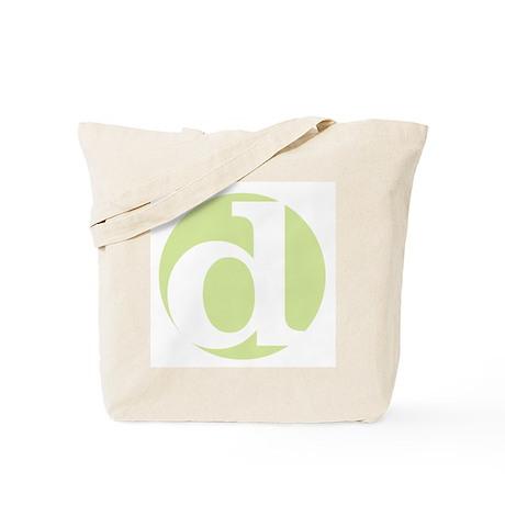 "green ""d"" Tote Bag"
