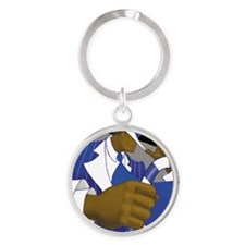 sigmapad Round Keychain