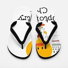 OptometryChick Flip Flops
