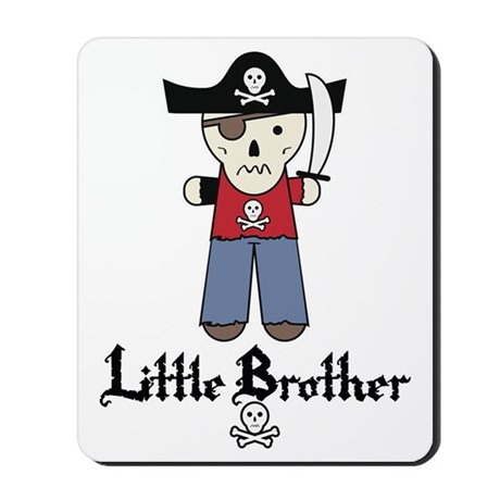 pirate3littlebrother Mousepad