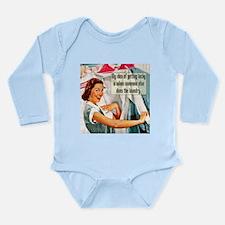 Lucky Laundry Long Sleeve Infant Bodysuit