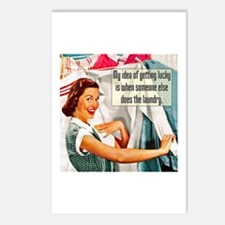 Lucky Laundry Postcards (Package of 8)