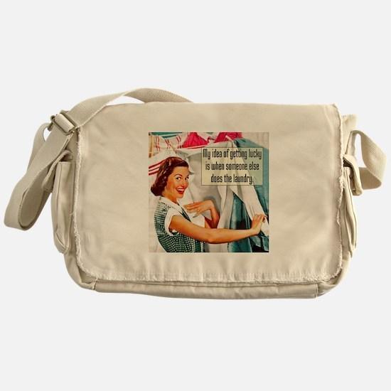 Lucky Laundry Messenger Bag