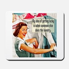 Lucky Laundry Mousepad