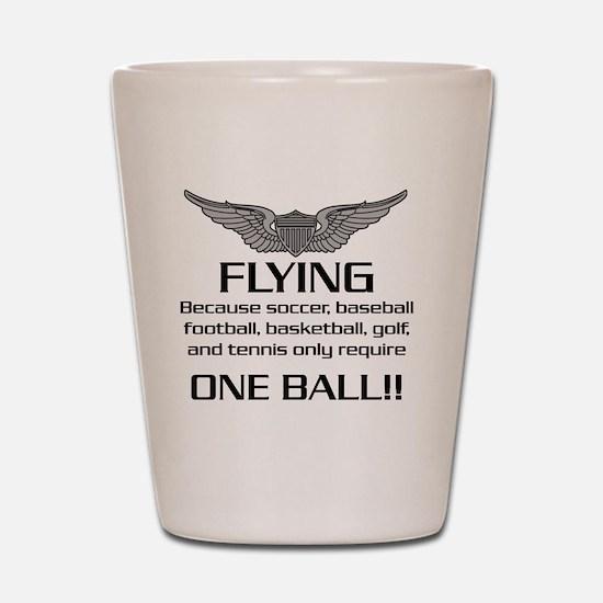 Flying-USArmy Shot Glass