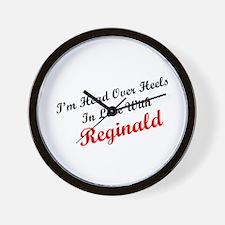 In Love with Reginald Wall Clock