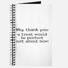 I would like a treat Journal