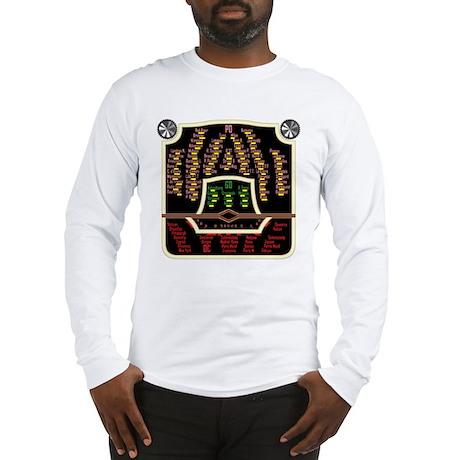 Antique Radio Face Long Sleeve T-Shirt