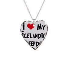 I-Love-My-Icelandic-Sheepdog Necklace
