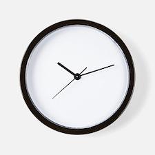 Icelandic-Sheepdog-University-dark Wall Clock